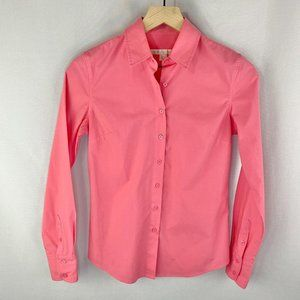 Boston Proper Button-up Top Pink Size 0